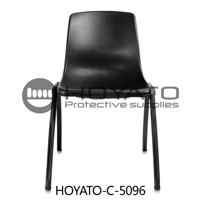 Comfortable No Oxide Dustless ESD Anti Static Plastic Cleanroom Chairs Customized Accept